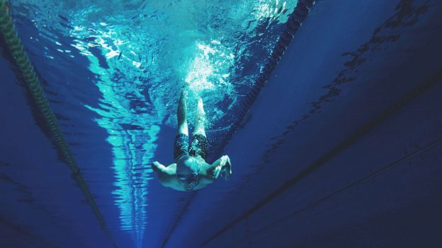 what muscles is swimming good for