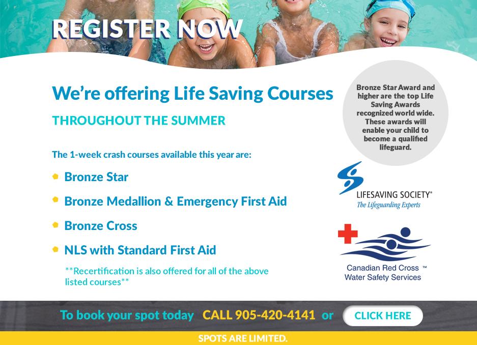 B&C Aquatics Life Saving Courses
