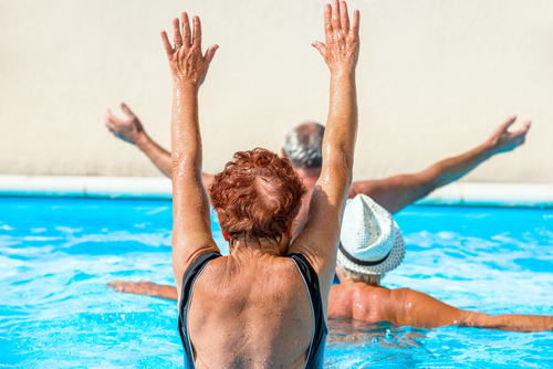Aquatic Exercises Senior Fitness