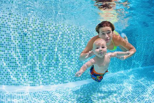 Swim without Floaties