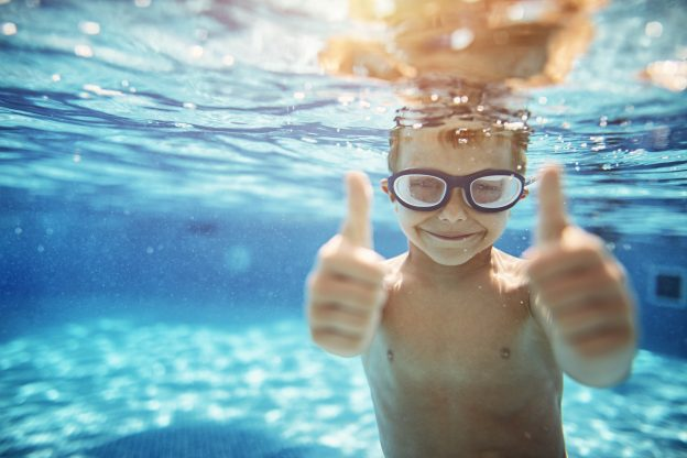 How Children Build Overall Confidence from Swimming