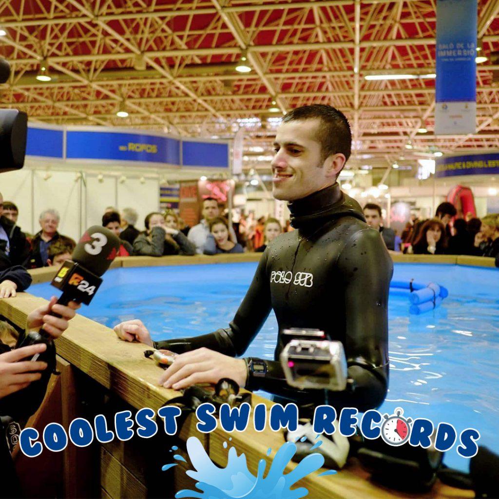 alex segura longest time underwater