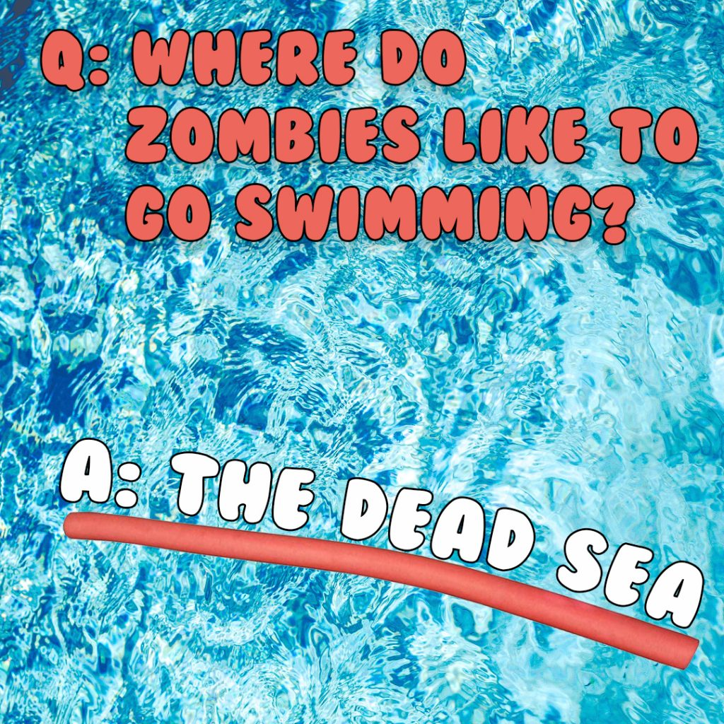 zombies swimming